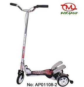 Wholesale ride on kids toys: Outdoor Fitness Scooter, Frog Scooter, Kick Scooter