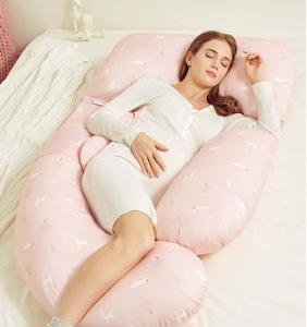 Wholesale foam pillow: Breathe Freely Memory Foam Body Pillow for Pregnant Woman