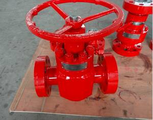 Wholesale api gate valve: API 6A /Tje High Pressure Gate Valve /Manual Lever Plate Valve
