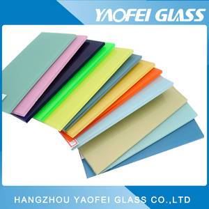 Wholesale high gloss furniture: Color Painted Glass