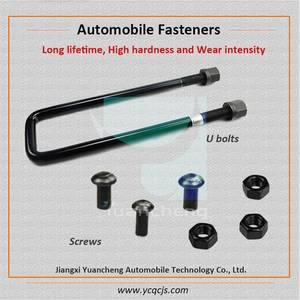 Wholesale auto fastener: Different Types Heavy Truck U Bolts in Auto Parts, Automotive Screws Fasteners Manufacturer