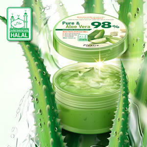 Wholesale cosmetic: Korea Plantco Pure & Aloe Vera 98% Moisture Soothing Gel Halal Certificate Cosmetic Soothing