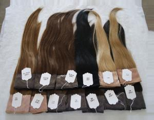 Wholesale hair grip: 100% European VIRGIN Hair I BAND Head Band Lace Wig Grip for Jewish Wig Kosher Wigs