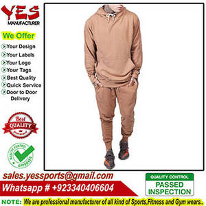 Wholesale Fitness Wear: Plain Tracksuit for Men