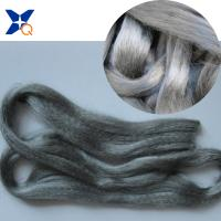 NE32/2ply 20% Stainless Steel Staple Fiber Blended with 80% Polyester Conductive Fabric-XTAA001 5