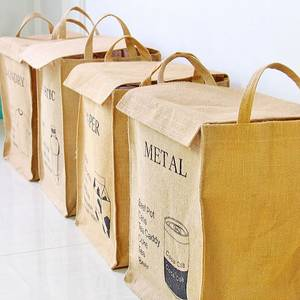 Wholesale recycling jute bag: Recyling Jute Bag