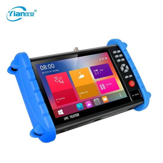 High Quality 5 in 1 IPC/CVBS/CVI/TVI/AHD CCTV Camera Tester with 7 Inch Touch Screen