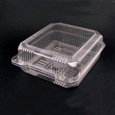 Plastic Fruit Container Strawberry Container Hinged Lid
