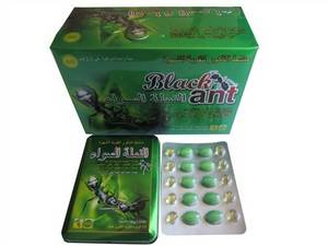 Wholesale metal: Metal Packing Black Ant Significantly Enhance StaminaMale Sex Pills