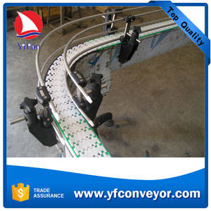 Wholesale chain conveyor: Plastic Slat Chain Conveyor