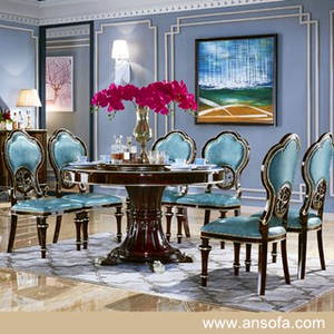 Wholesale classic wood dining table: Dining Table with Chair for Dining Room Furniture