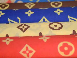 Wholesale Printed Fabric: Printed Pongee Fabric