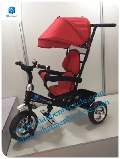 CE Approved Air Wheel Baby Pram 3 in 1 Baby Stroller , Air Wheels Baby Stroller