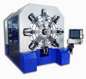 Wholesale wire forming spring: 12 Axles Camless Spring Forming Machine for 2.0mm~8.0mm Wire