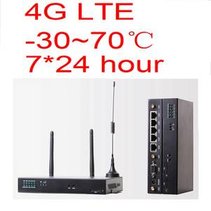 Wholesale firewall: Dual SIM 4G LTE Wireless Router Integrated with WAN, LAN, VPN Firewall, WIFI Services, 7*24h Online.