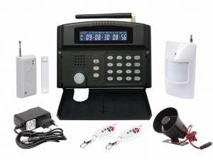 Wholesale emergency siren: Smart Home Multi-function LCD GSM Alarm System