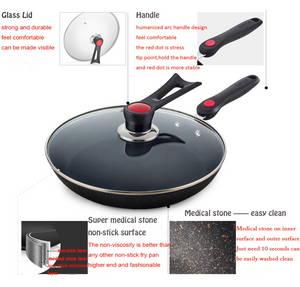 Wholesale panning shot: Medical Stone Fry Pan