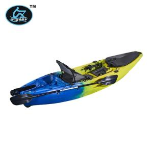 Wholesale ocean: Stable Outodoor Watersports Fishing Kayak for River Lake Ocean Paddler UB-17 with Retractable Rudder