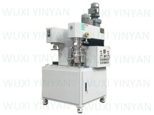 Wholesale cosmetic lotion making machine: Adhesive Mixing Dual Planetary Mixer Machine