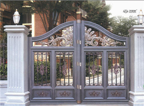 Latest Decorative Aluminum Casting House Main Gate Designid