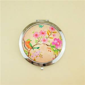 Wholesale cosmetic mirror: Glass Compact Mirror / Gifts for Women Pocket Mirror