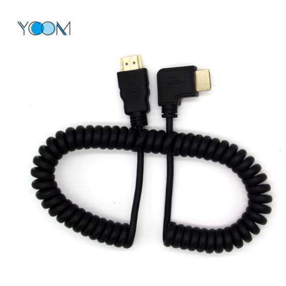 Sell 1080P V1.4 3D Spring Elastic Curl HDMI Cable