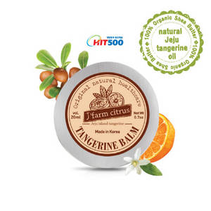 Wholesale shea butter: J Farm Citrus Shea Butter Tangerine Multi Balm
