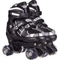 Adjustable Stylish Freestyle Speed Flashing 4 Wheels PP Shell Roller Inline Skates for Ad