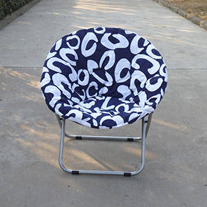 Wholesale Folding Furniture: Polyester Fabric Adhlt Foldind Moon Chair Outdoor Chair Camping Moon Chair,