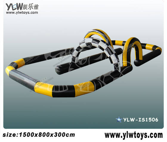 Sell inflatable racing track,sport inflatable toys,inflatable competitive toys