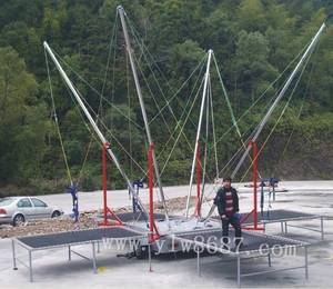 Wholesale Bungee: 4 in 1 Mobile Bungee Trampoline,Jumping Trampoline