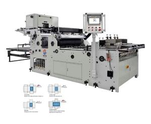 Wholesale tissue paper: Full-automatic PET/PE/OP/PVC Paper Tissue Box Corner Cutting Window Patching Machine for Paper Box