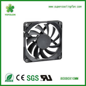 Wholesale Laptop Coolers: 80x80x10mm 5V 12V DC Axial Cooling  Fan High Rpm DC Fan