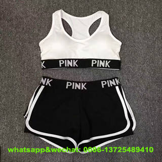 Sell Yoga Bra Shorts Set Sports Clothing Fitness Tights Compression