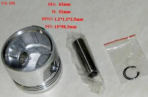 Wholesale motorcycle parts: YOG Motorcycle Parts Motorcycle Piston Kit for Honda CG150