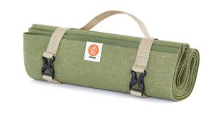 Wholesale pvc yoga mat: YOGO Long Ultralight Travel Yoga Mat - with Attached Carrying Strap