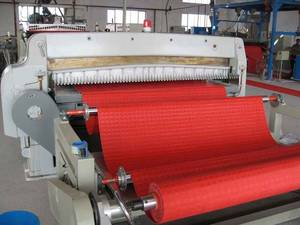 Wholesale pvc products: PVC Calendering Floor Mat Machine/Production Line
