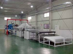 Wholesale Plastic Extruders: Hollow EVA Polymer Mattress Machine/Production Line