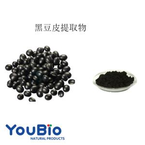 Wholesale black beans: Black Bean Hull Extract  Anthocyanin 25%