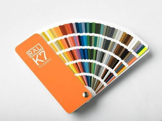Sell Ral-K7 Color Card for Painting Spray Industry