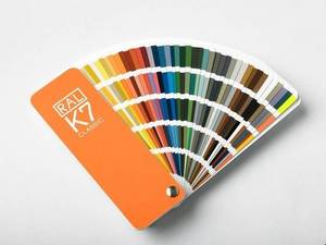Wholesale ral colors: Ral-K7 Color Card for Painting Spray Industry Use
