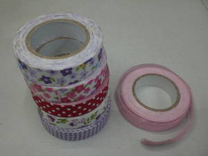 Wholesale decoration: Gift Decoration Fabric Cloth Tape