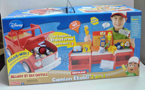 Handy Manny 2 In 1 Transforming Tool Truck Id 5479854