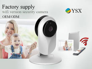 Wholesale home wireless security alarm: Wifi Wireless IP Camera Home Video Surveillance Alarm System CCTV Security Cameras