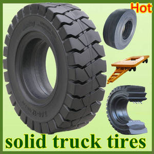 Wholesale Material Handling Equipment Parts: 12.00-24, 10.00-20 Forklift / Trailer / Big Truck Solid Rubber Otr Tyres