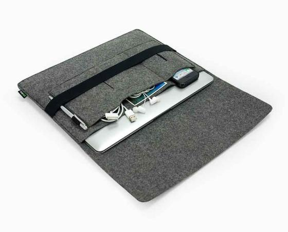 Sell Wool felt computer bags laptop sleeve for tablet