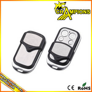 Wholesale rf remote control: Copy Fixed/Learning Code 433.92mhz RF Wireless 4keys Remote Control Duplicator  AG070