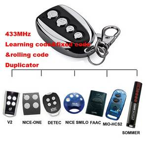 Wholesale remote control duplicator: Factory Price Wireless Remote Control 433 MHz Cloning Gate Auto Key Duplicator Copy 12 Europe Brand