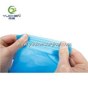 Wholesale medical latex surgical gloves: High Elasticity Disposable Plastic Clean TPE Glove