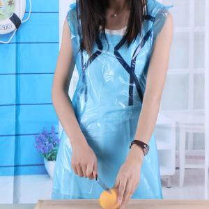 Wholesale pink pet film: Disposable Protective Plastic Cooking Medical PE Apron Surgical Apron